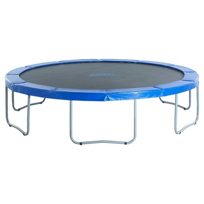 Upper Bounce® 12' Round Trampoline With Blue Safety Pad