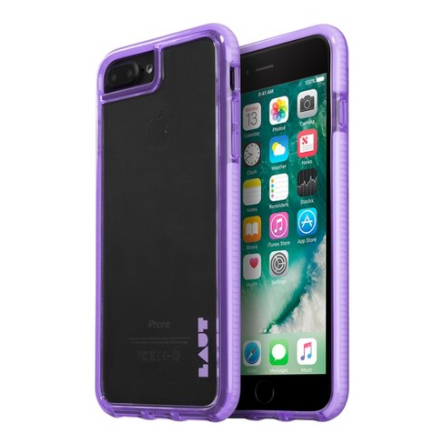 LAUT Apple iPhone 8 Plus/7 Plus/6s Plus/6 Plus Case Fluro - Lavender - image 1 of 3