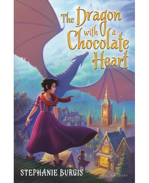 Dragon with a Chocolate Heart -  by Stephanie Burgis (Hardcover) - image 1 of 1