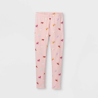 Girls' Unicorn Leggings - Cat & Jack™ Pink