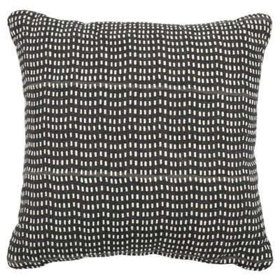 Square Printed Pillow Black - Project 62™