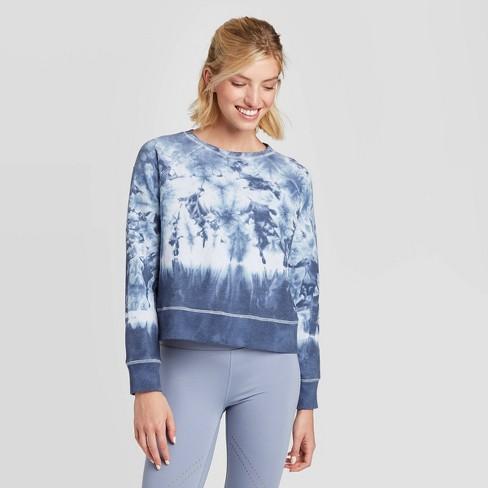 Women's Crew Neck Long Sleeve Fleece - JoyLab™ - image 1 of 2