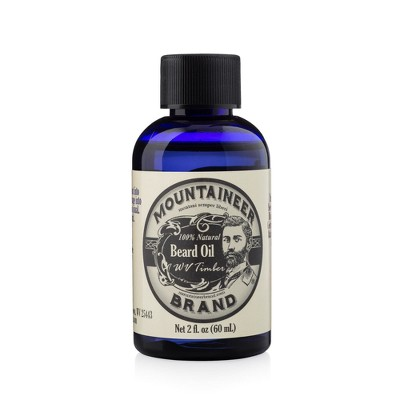 Mountaineer Brand WV Timber Beard Oil - 2 fl oz