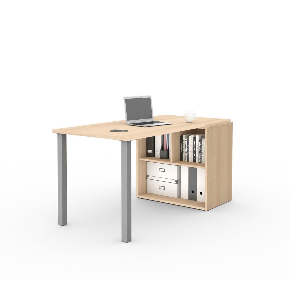 I3 Plus Workstation Northern Maple Brown - Bestar