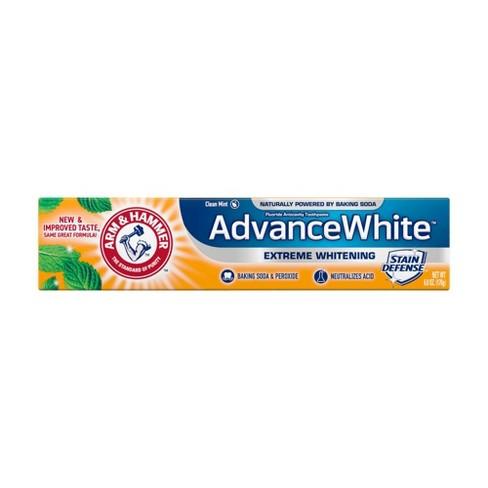Arm & Hammer Advance White Extreme Whitening Baking Soda & Peroxide Toothpaste - image 1 of 4