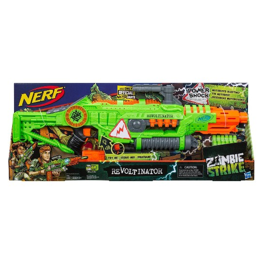 NERF Zombie Strike Revoltinator Blaster image number null