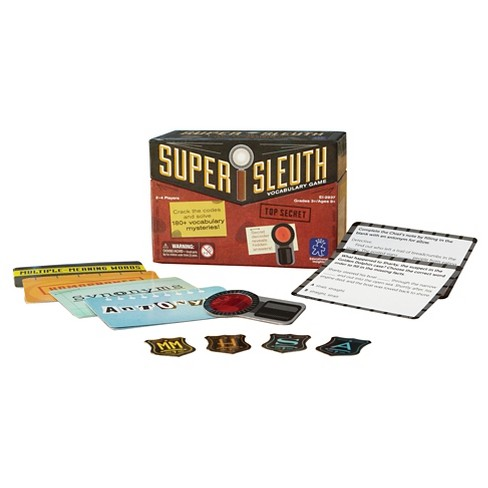 Educational Insights Super Sleuth Vocabulary Game - image 1 of 7