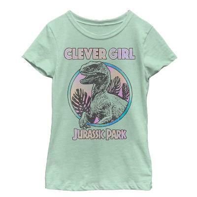 Girl's Jurassic World Retro Clever Girl T-Shirt