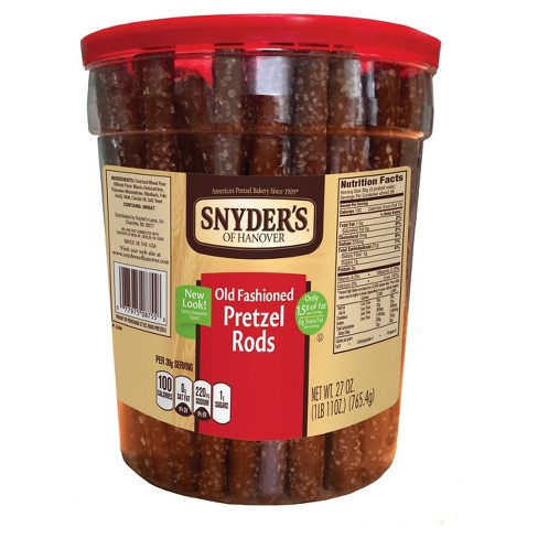 Snyder's of Hanover Old Fashioned Pretzel Rods - 27 oz - image 1 of 2
