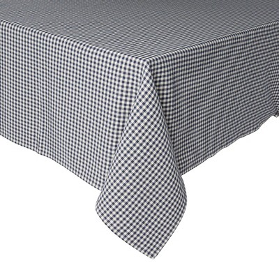 Cotton Gingham Woven Tablecloth - Town & Country Living