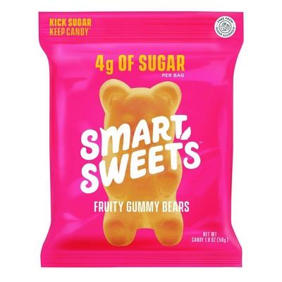 SmartSweets Fruity Gummy Bears - 1.8oz