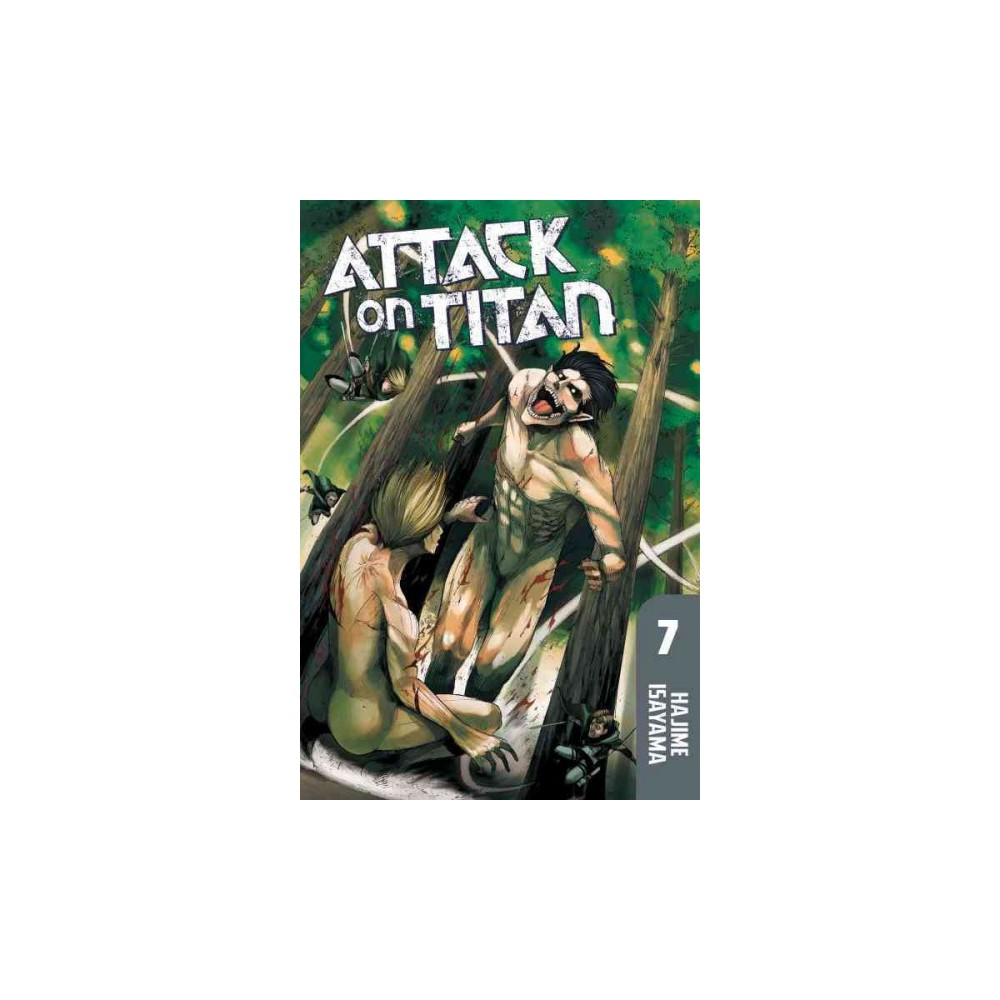 Attack on Titan 7 - by Hajime Isayama (Paperback)