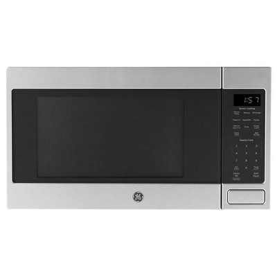 GE 700 Watt Countertop Microwave Oven, Stainless Steel (Manufacturer Refurbished)