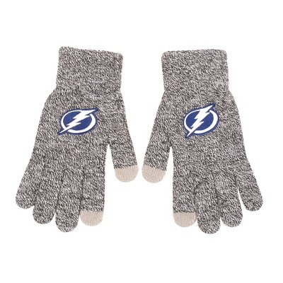 NHL Tampa Bay Lightning Gray Knit Gloves