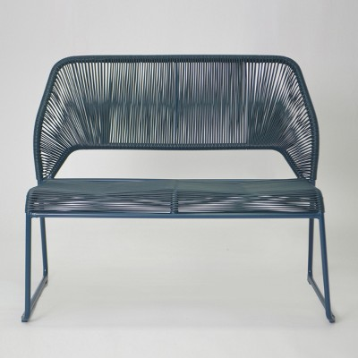 Exceptional Fisher Patio Bench   Blue   Project 62™