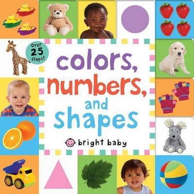 Lift-The-Flap Tab: Colors, Numbers, Shapes - (Lift-The-Flap Tab Books)by Roger Priddy (Board_book)