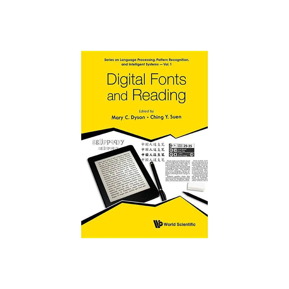 Digital Fonts And Reading Language Processing Pattern Recognition And Intelligent Systems By Mary C Dyson Ching Yee Suen Hardcover