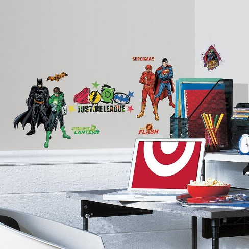 RoomMates Justice League Peel & Stick Wall Decals - image 1 of 5