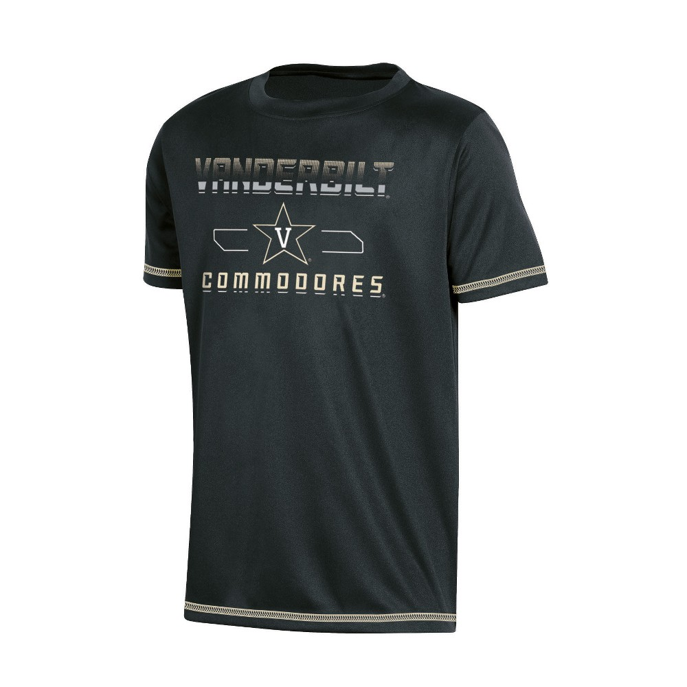 NCAA Boys' Poly T-Shirt Vanderbilt Commodores - XS, Multicolored