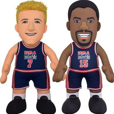 "NBA Magic Johnson and Larry Bird 10"" Plush Figures"