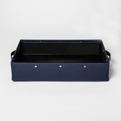 Decorative Tray - Navy - Room Essentials™ - image 1 of 2