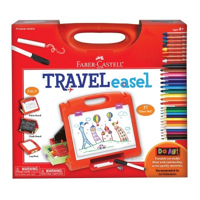 Do Art 3-in-1 Travel Easel with Art Supplies - Faber-Castell