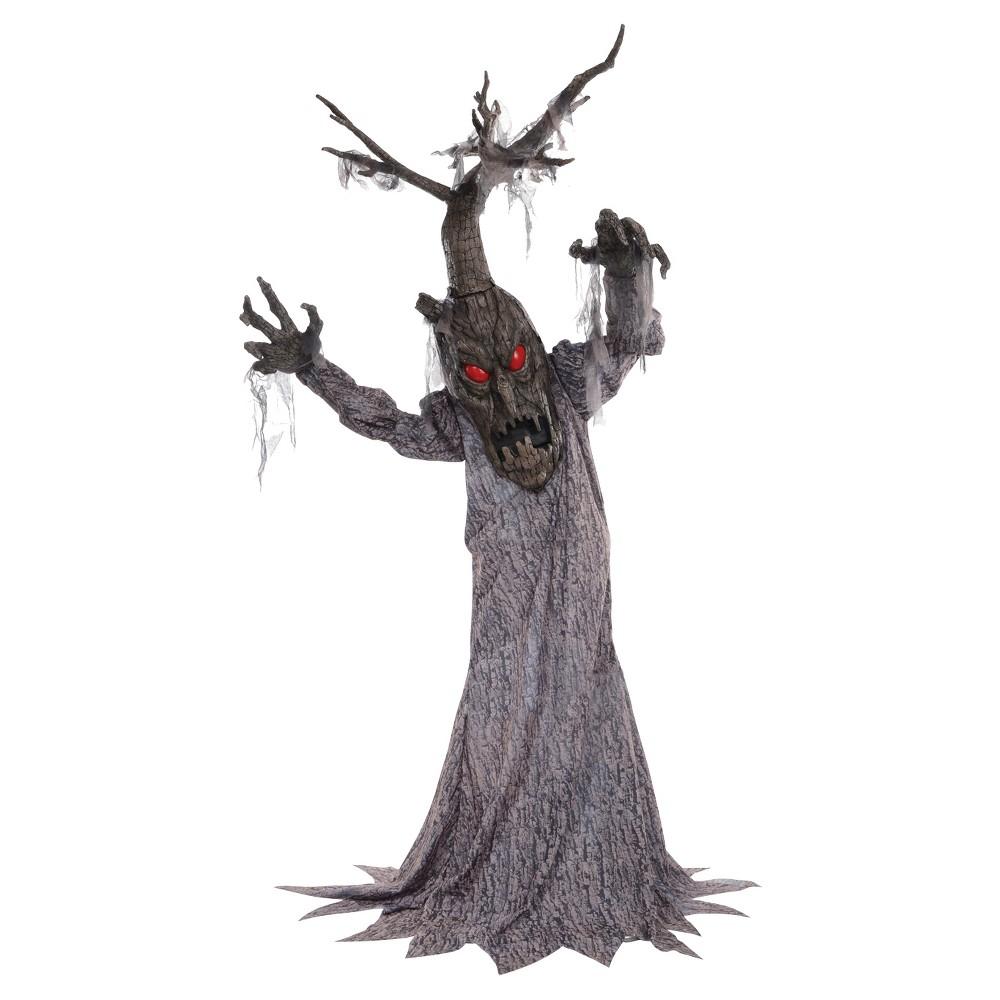 Image of 6ft Halloween Haunted Tree Deadwood Decor, Brown