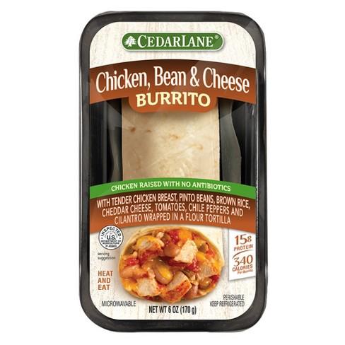 Cedarlane Chicken, Bean & Cheese Burrito - 6oz - image 1 of 1