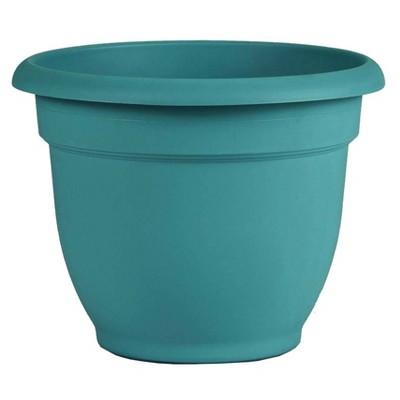 """10"""" Ariana Self Watering Planter Bermuda Teal - Bloem"""