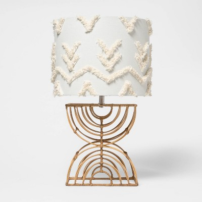 Boho Rattan Table Lamp - Pillowfort™