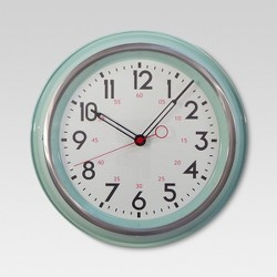 "Schoolhouse 14"" Wall Clock - Threshold™"
