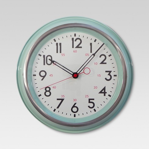 "Schoolhouse 14"" Wall Clock - Threshold™ - image 1 of 3"