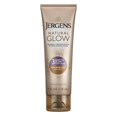 Jergens 3 Days to Glow Moisturizer - Medium to Tan - 4 fl oz