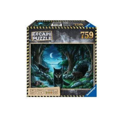 Ravensburger Escape 759pc Puzzle Assortment - The Curse of the Wolves