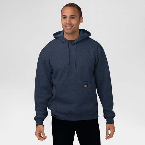 Dickies® Men's Big & Tall Midweight Fleece Pullover Hoodie- Dark Navy 5XL - image 1 of 1