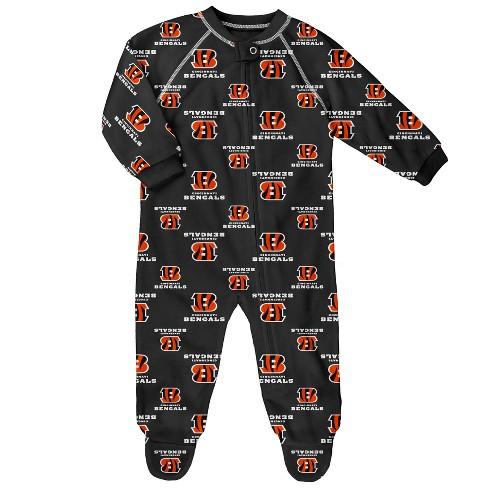 df29e17bd NFL Cincinnati Bengals Newborn  Infant Blanket Zip-Up Sleeper   Target