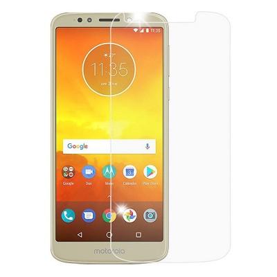 E5 Phone Screen Protector Linmatealliance 25 PCS 9H 5D Full Glue Full Screen Tempered Glass Film for Motorola Moto G6 Play