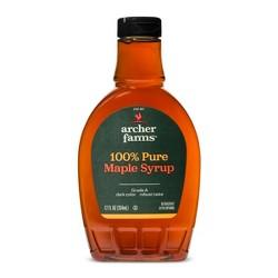 100% Pure Maple Syrup Dark Amber - 12 fl oz - Archer Farms™