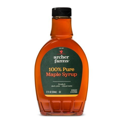 100% Pure Maple Syrup Dark Amber - 12 fl oz - Archer Farms™ - image 1 of 1