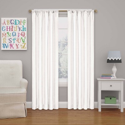 "42"" Kendall Blackout Thermaback Curtain Panel - Eclipse My Scene"