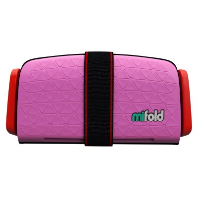 Mifold Grab-n-Go Booster Car Seat - Pink