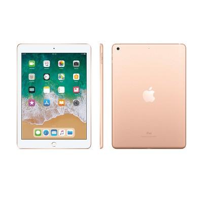 Apple iPad 9.7  32GB Wi-Fi Only (2018 Model, 6th Generation, MRJN2LL/A)- Gold