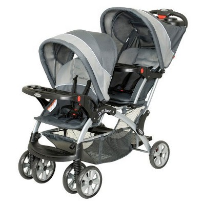 Baby Trend Sit N Stand Double - Grey Mist