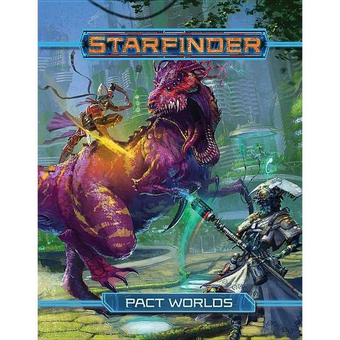 Starfinder Roleplaying Game: Pact Worlds - (Hardcover) - image 1 of 1