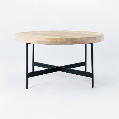 Villa Park Round Wooden Coffee Table - Threshold™ designed with Studio McGee