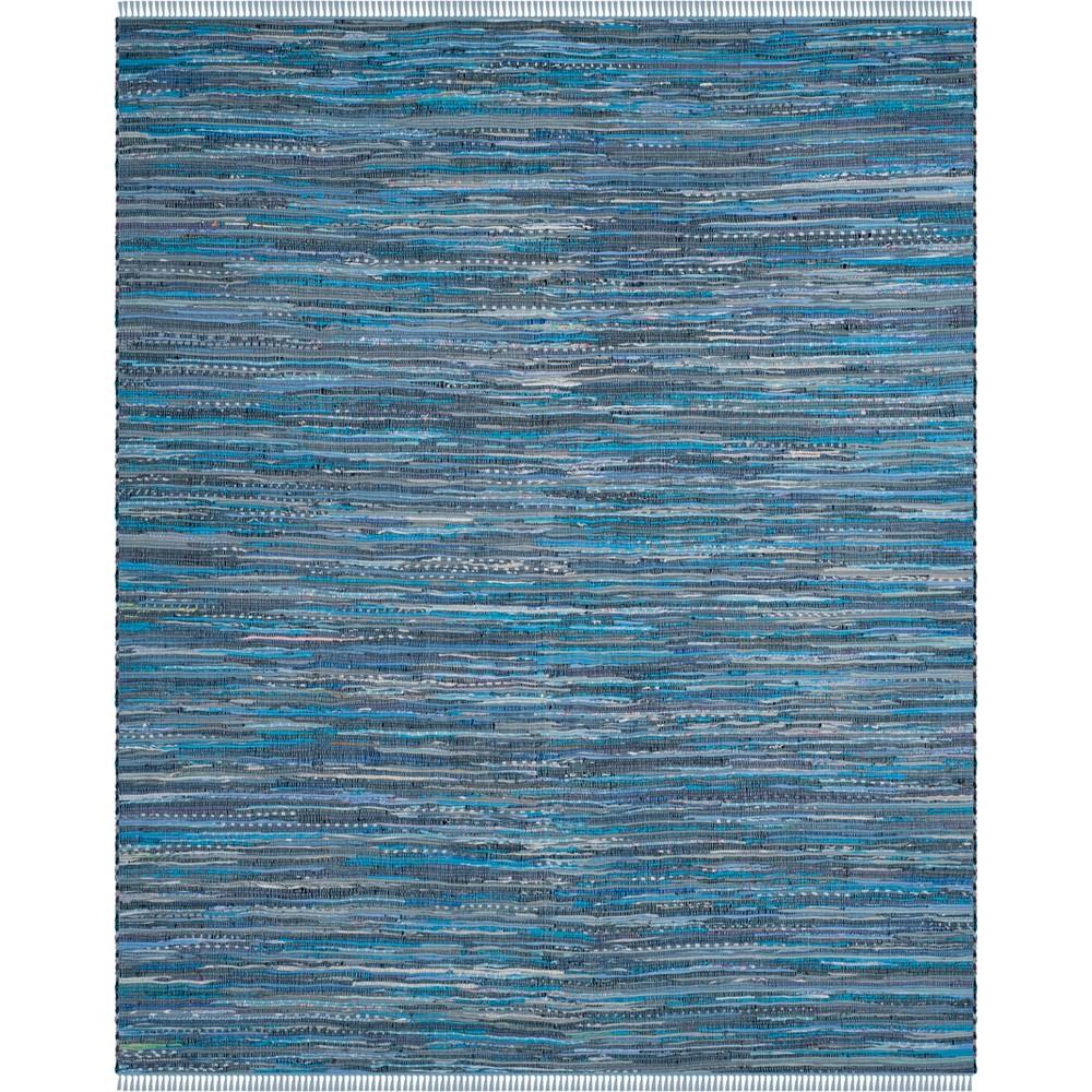 Spacedye Design Woven Area Rug Blue