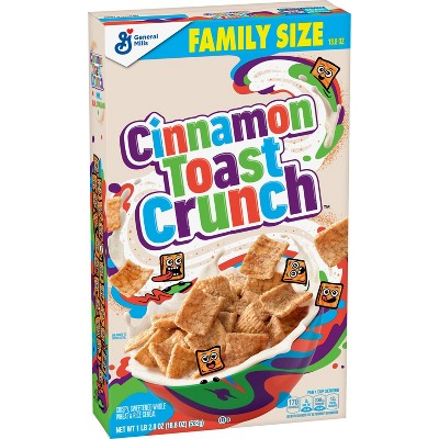 General Mills Family Size Cinnamon Toast Crunch Cereal - 18.8oz