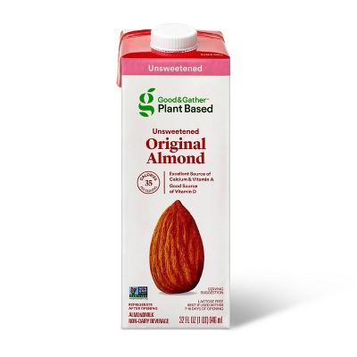 Unsweetened Almond Milk - 32oz - Good & Gather™
