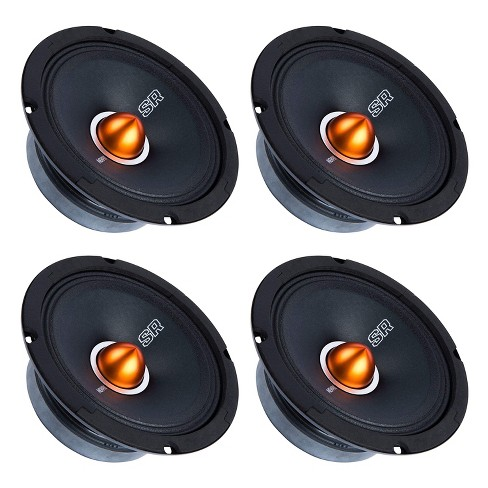 memphis audio srxp62 street reference 6 5 inch pro audio component car speaker 4 pack target memphis audio srxp62 street reference 6 5 inch pro audio component car speaker 4 pack