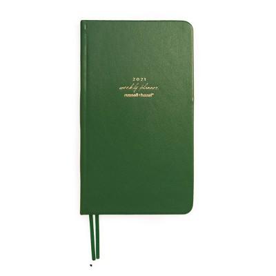 2021 Planner Weekly Pocket Green- russell+hazel